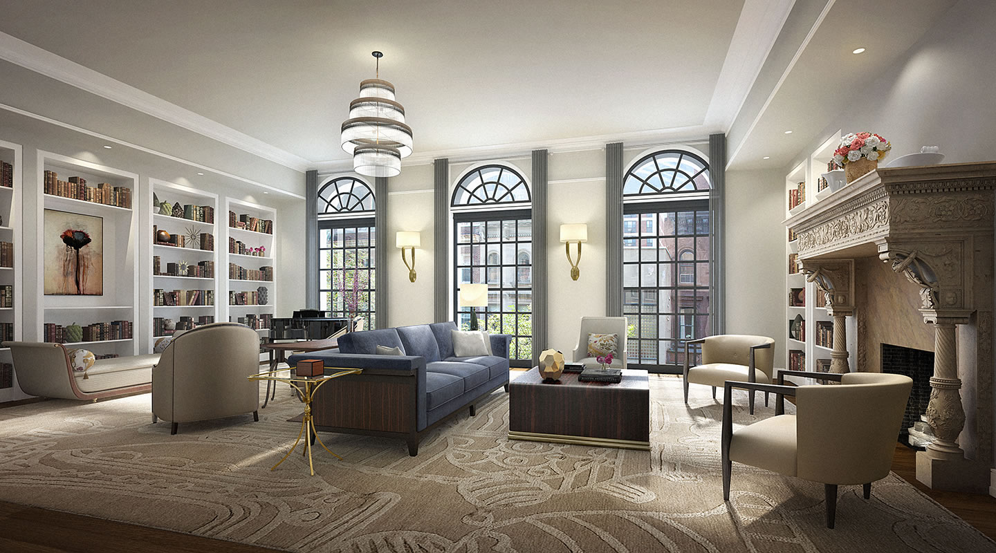 33 east 74th street for Living room york